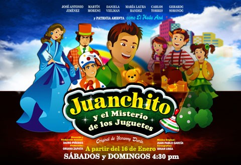 Juanchito y el Misterio de los Juguetes