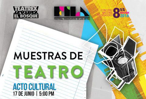 Muestra de teatro FILA - Acto cultural