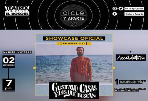 Ciclo y Aparte - Gustavo Casas + Recordatorio