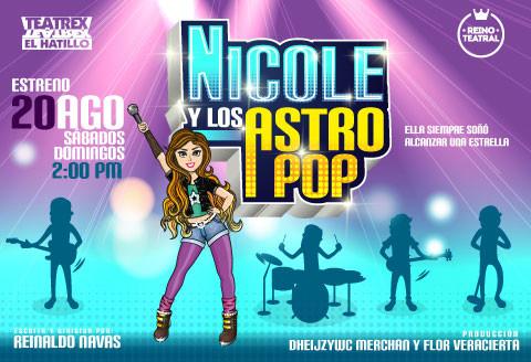 Nicole y los Astro Pop