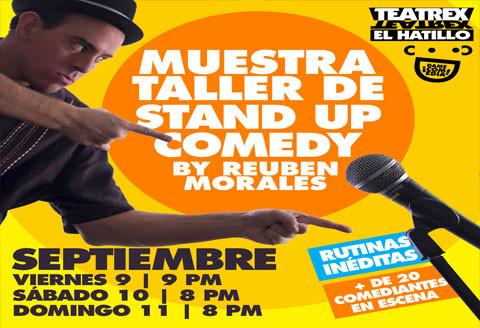 La muestra - Taller de Reuben Morales