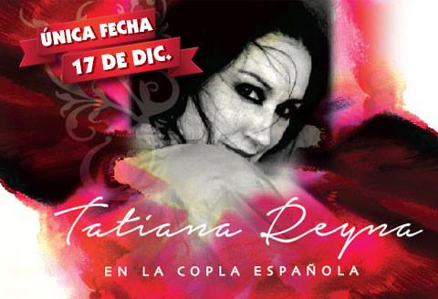 Tatiana Reyna en la Copla Española