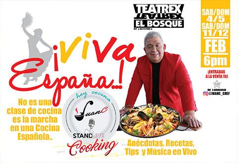 Hoy cocina Juan C ¡Viva España¡