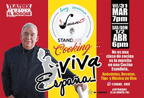 Hoy cocina Juan C ¡Viva España!