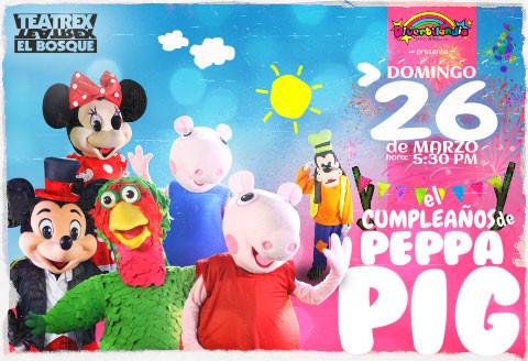 El cumpleaños de Peppa Pig con sus amigos