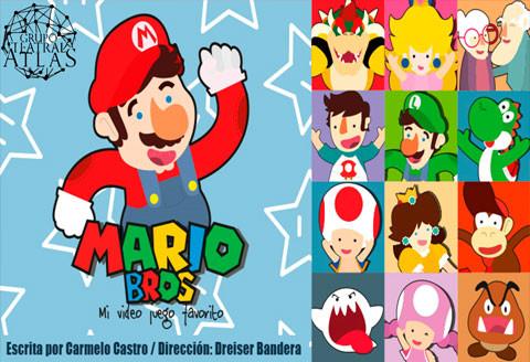 Mario Bros, mi video juego favorito